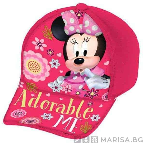 Шапка с козирка Minnie Disney, Мини маус