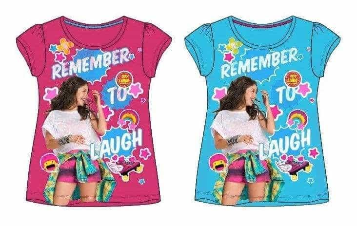 Тениска с къс ръкав Soy Luna, многоцветна