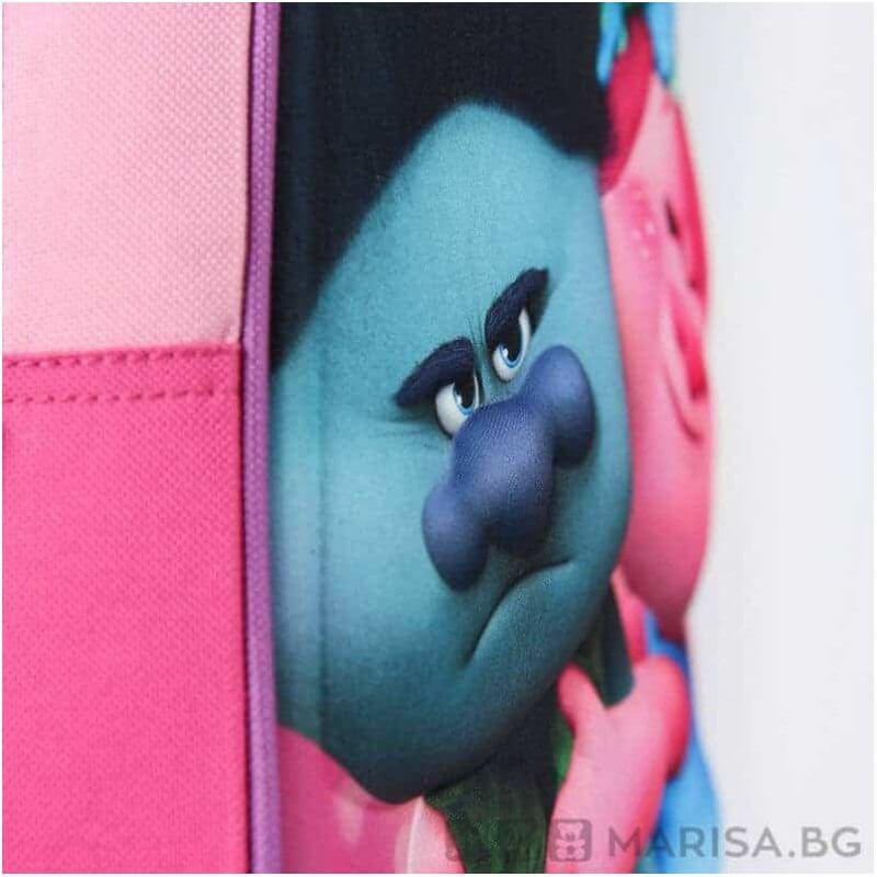 Детска раница Trolls 3D - 31см - Marisa.BG