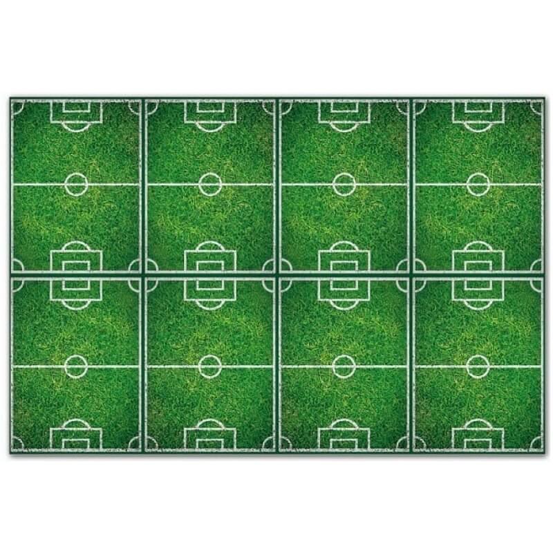 Парти покривка Football игрище, зелена