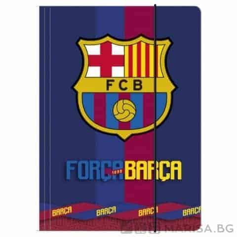 Папка с ластик FC Barcelona