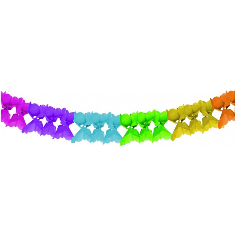 Гирлянд цветен - 3,6 метра
