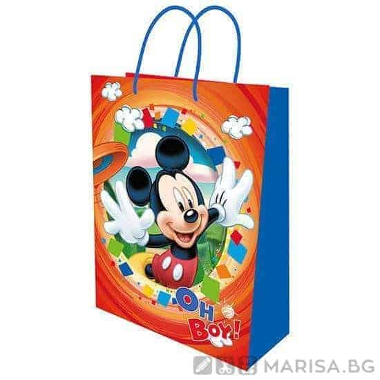 Подаръчни торбички Mickey Mouse 23/18 см