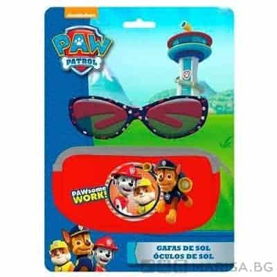 Слънчеви очила Paw patrol + калъф Пес патрул