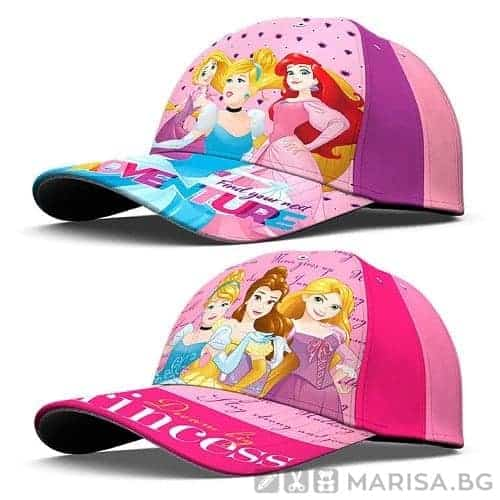 Шапка с козирка Disney Princess, Дисни принцеси