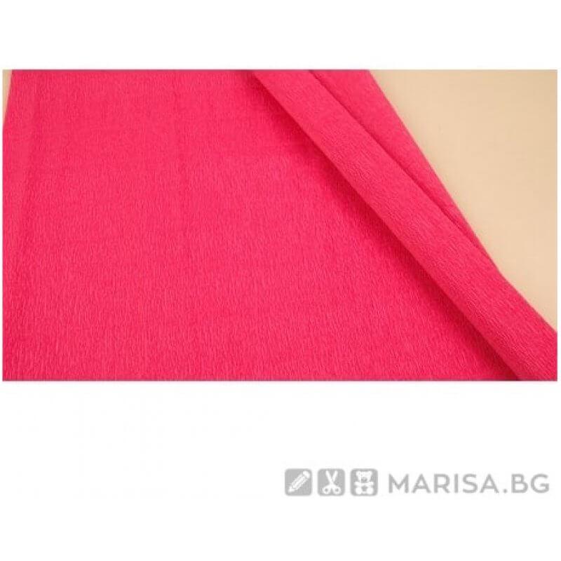 Креп хартия Пепел от рози 50 cm х 2,50 m - 140 g - Marisa.BG