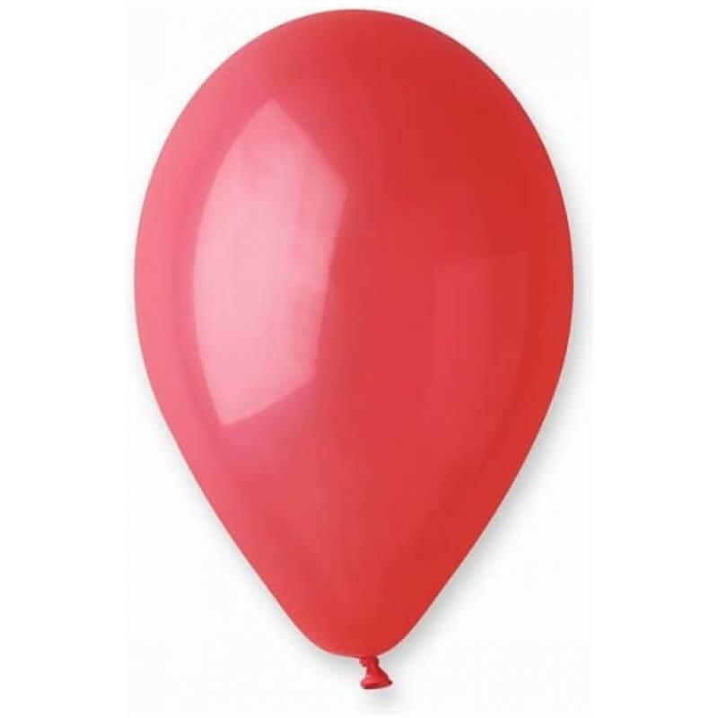 Червени балони G110, пастел