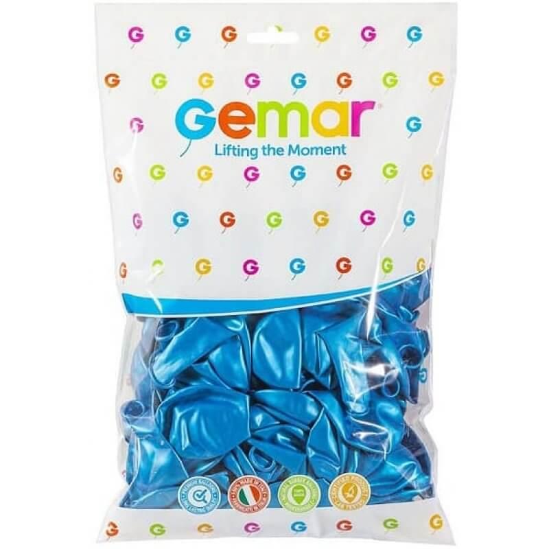 Балони Сини GM110, металик
