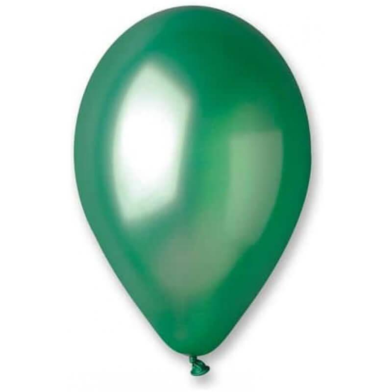 Балони Зелени GM110, металик