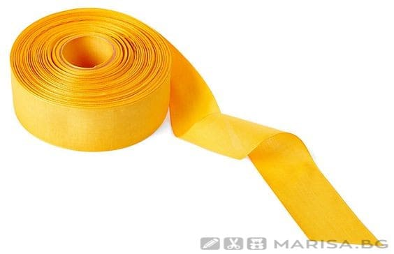 Панделка пастел 3 см / 100 ярда - Жълта