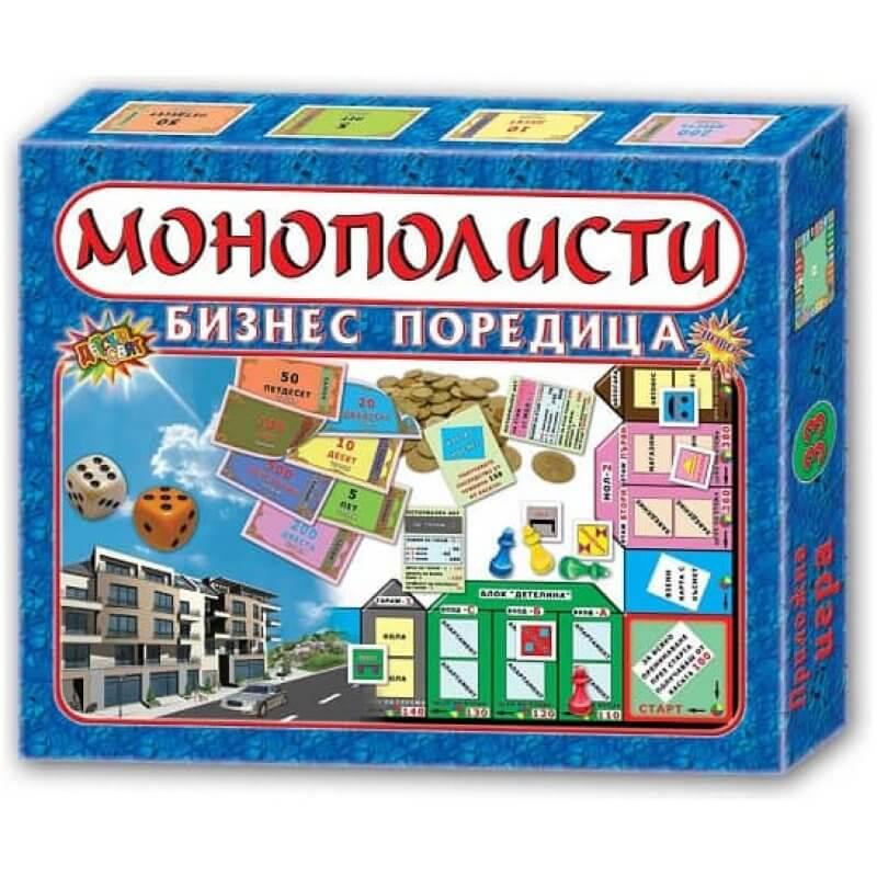 Монополисти Бизнес игра