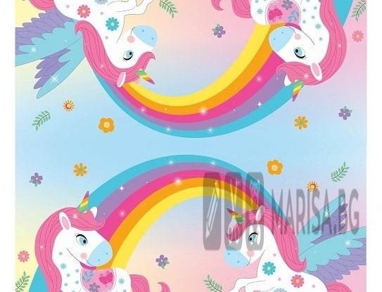 Салфетки Unicorn Rainbow Еднорог, 20 броя в опаковка