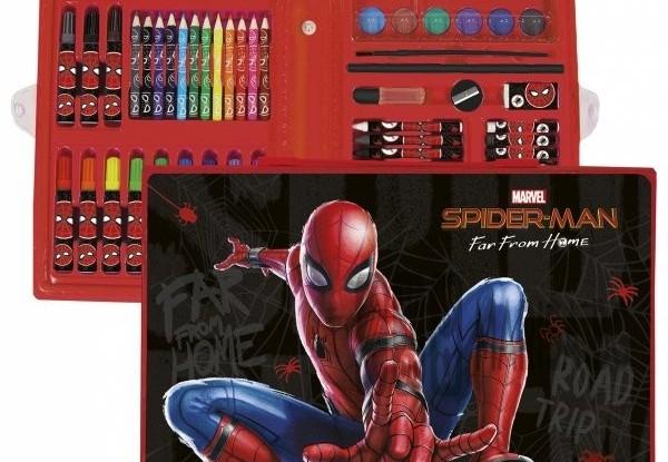Рисувателен комплект Спайдърмен
