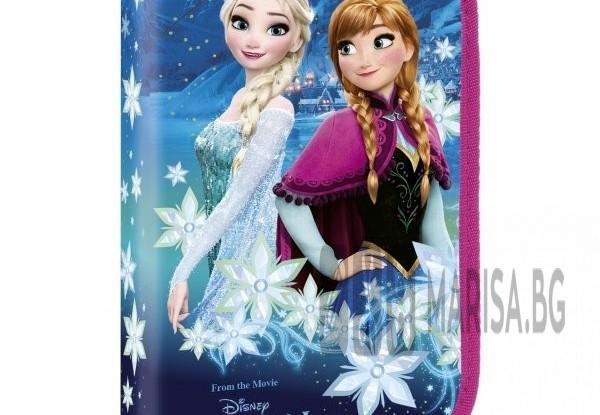 Несесер Disney Frozen Пълен / Зареден, 1 цип и 2 клапи
