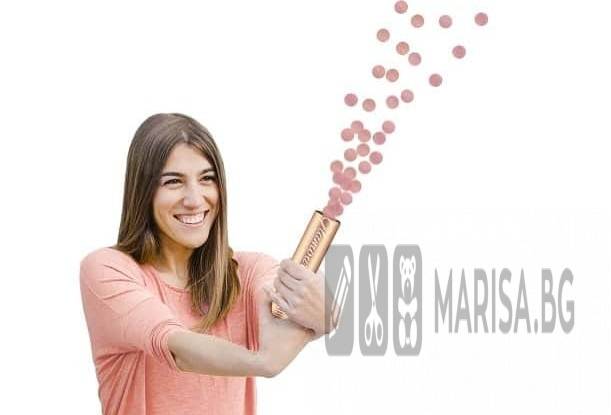 Парти конфети Glamour Gold, фолио, розово злато / 15 см