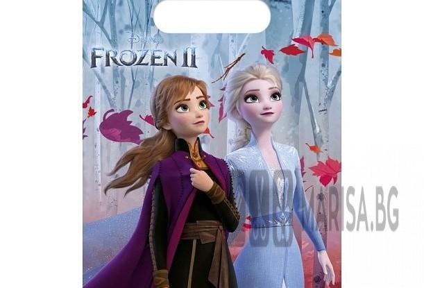 Комплект парти торбички Frozen 2 - 6 броя