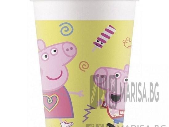 Парти чаши Peppa Pig, 200 ml, 8 броя