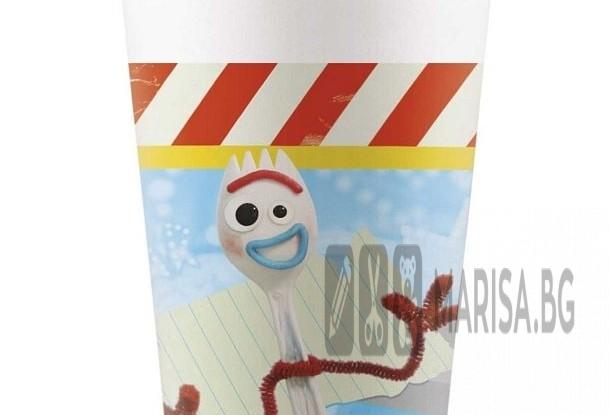 Парти чаши Toy story 4, 200 ml, 8 броя