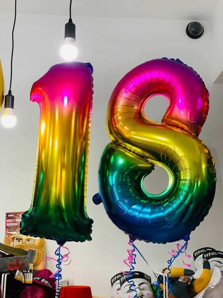 Впечеатляващи балони цифри