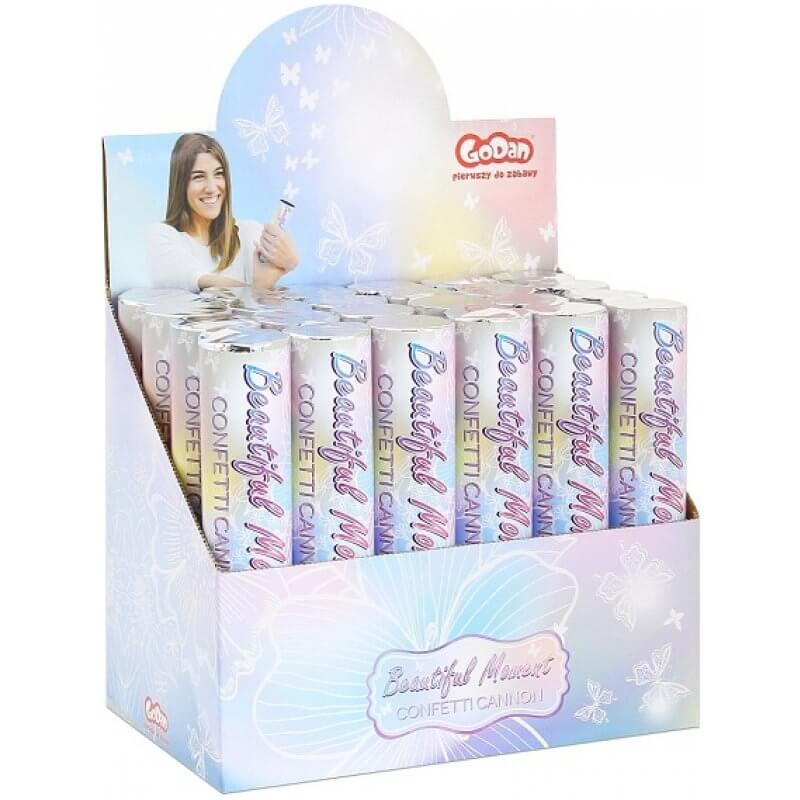 Парти конфети Beautiful Moment, пеперуди, бели - Marisa.BG