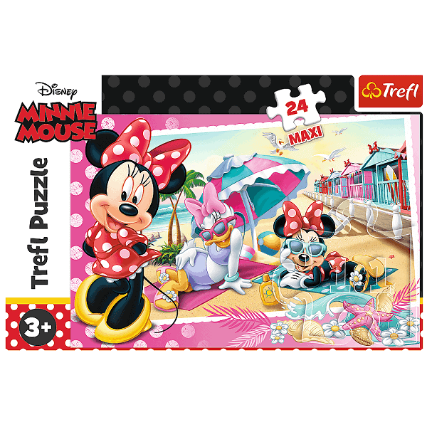 Детски пъзел Disney Minnie Mouse Maxi 24 eлемента