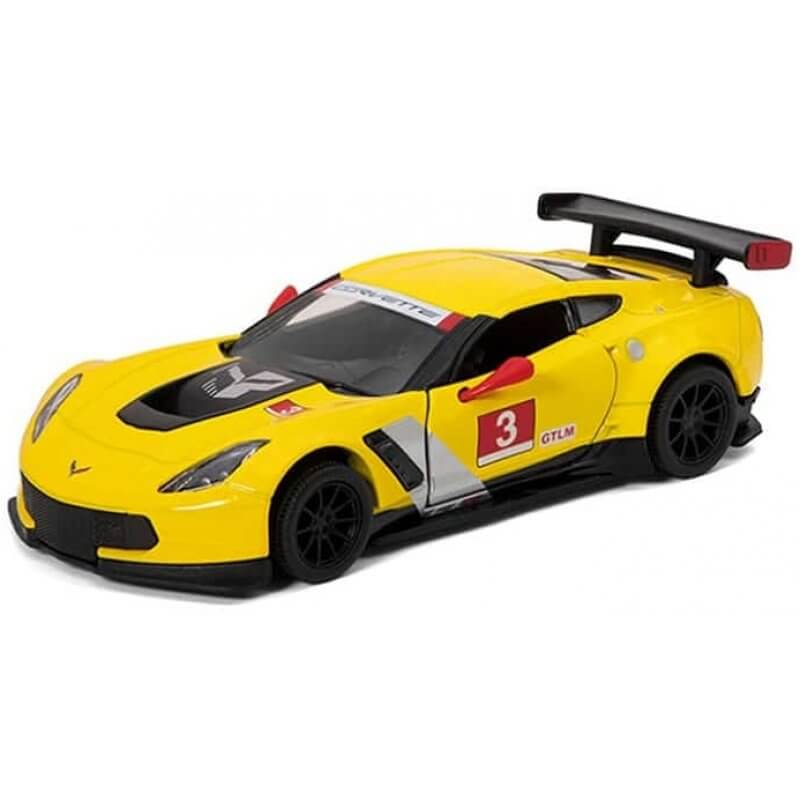 Метална количка Kinsmart 2016 Corvette C7.R Race Car