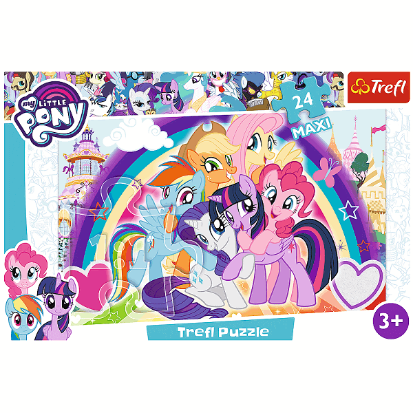 Пъзел My Little Pony Trefl Maxi 24 части Trefl
