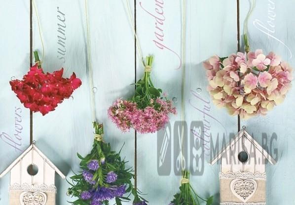 Хартиени салфетки Garden Flowers Daisy