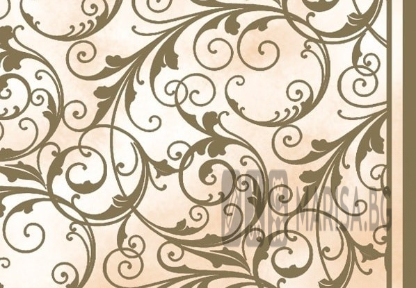 Хартиени салфетки Cream & Gold Maki - 20 броя