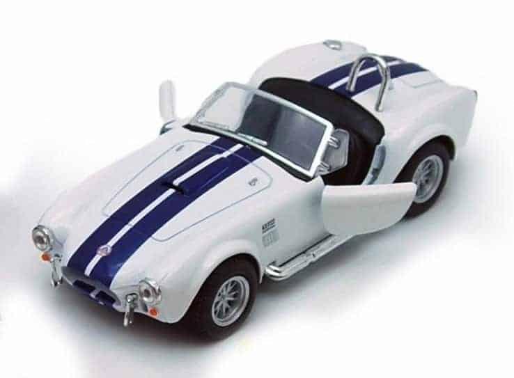 Метална количка Kinsmart 1965 Shelby Cobra 427 S/C