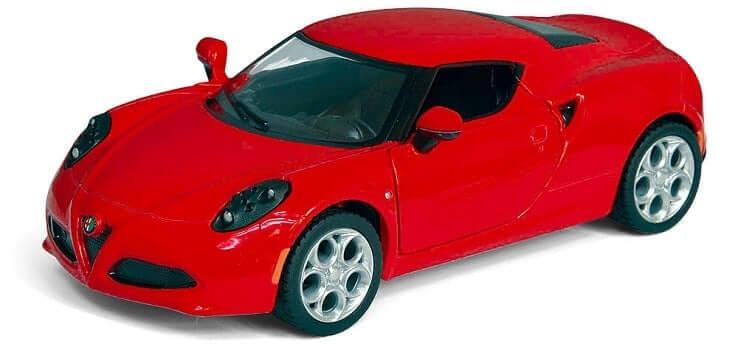 Метална количка Kinsmart 2013 Alfa Romeo 4C