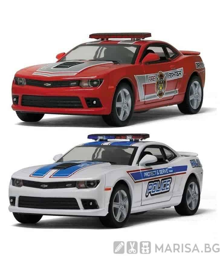 Kinsmart 2014 Chevrolet Camaro (Police/ Fire Fighter)