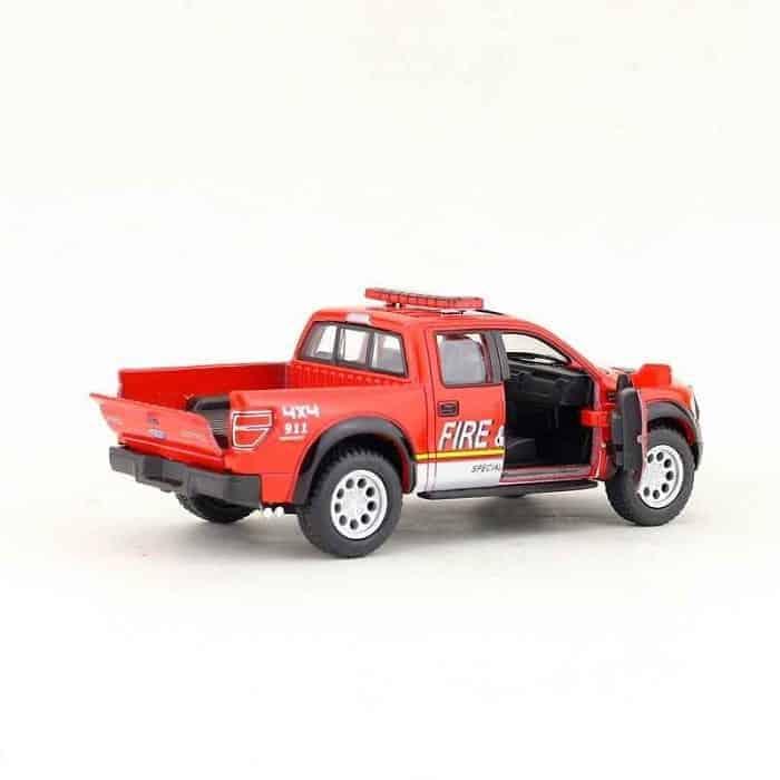 Метална количка Kinsmart Ford F-150 SVT Raptor SuperCrew