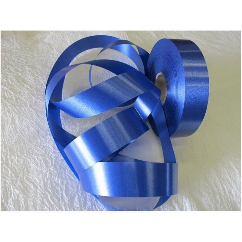 Панделка пастел 3 см / 100 ярда - Тъмно Синя