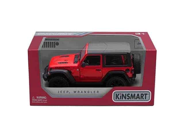 Метална количка Kinsmart 2018 Jeep Wrangler (Hard Top)