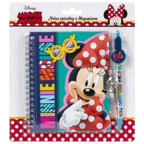 Комплект таен дневник с химикал Minnie Mouse, блистер