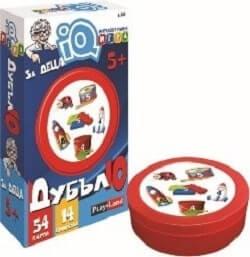 Интелектуална игра IQ Дубъл 10, за деца 5+