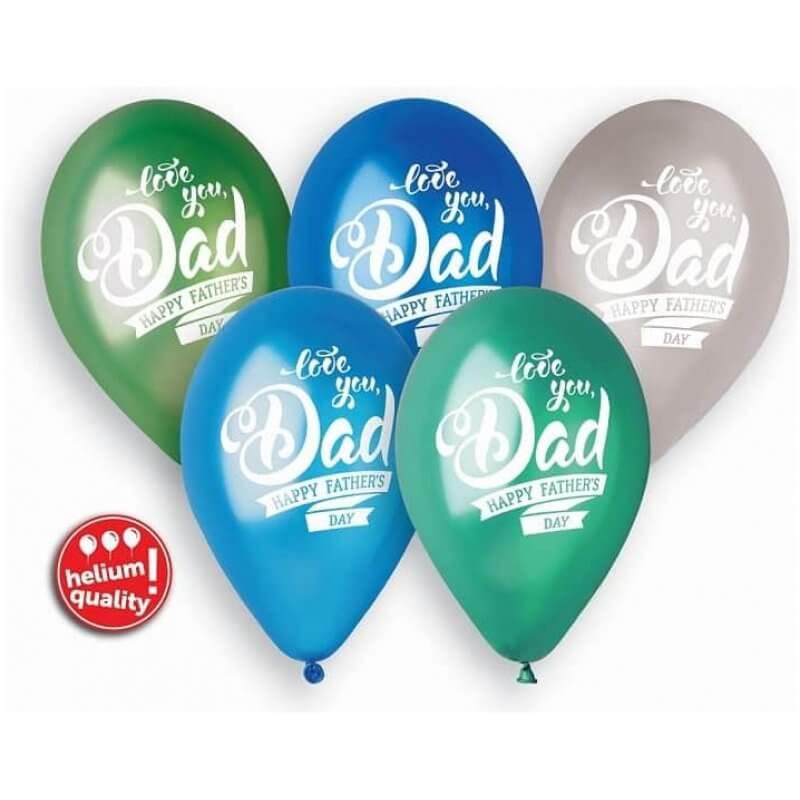 Балони Premium Father's Day, 5 броя