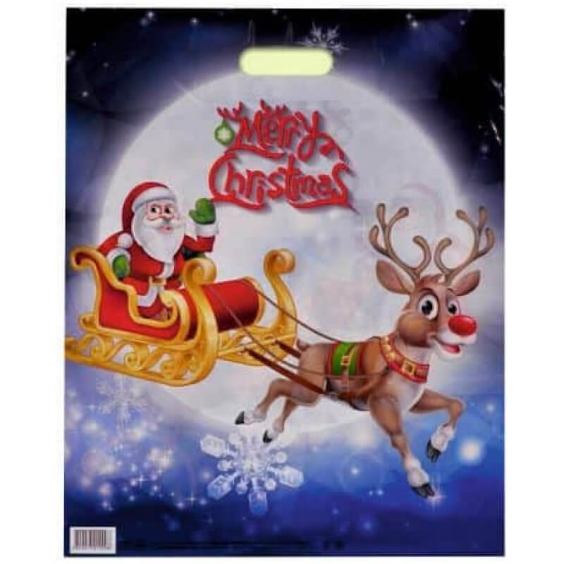"""Торбичка """"Шейната на Дядо Коледа"""""""