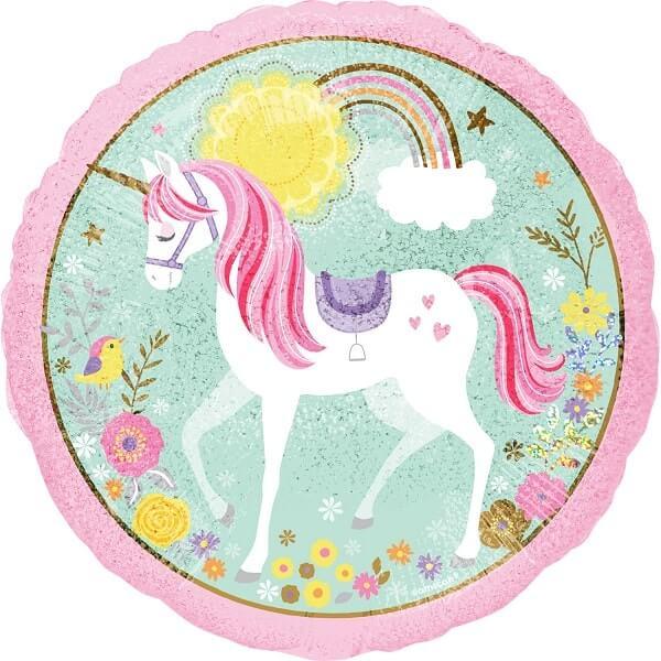 Фолиев балон Еднорог, Magical Unicorn, 43 см