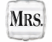 Фолиев балон Mrs. - Госпожа, Мисис, 46 см